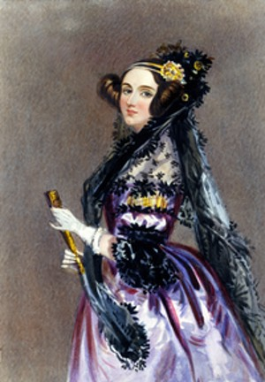 Ada Lovelace, picture from Wikipedia